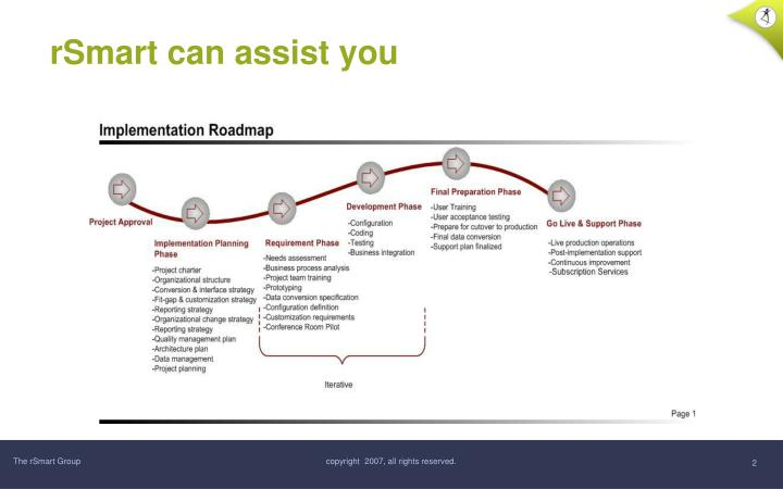 Rsmart can assist you
