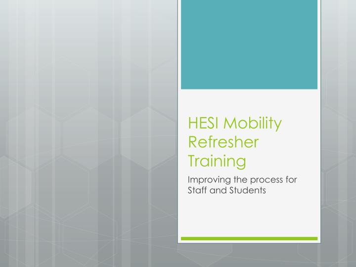 hesi rn case study mobility