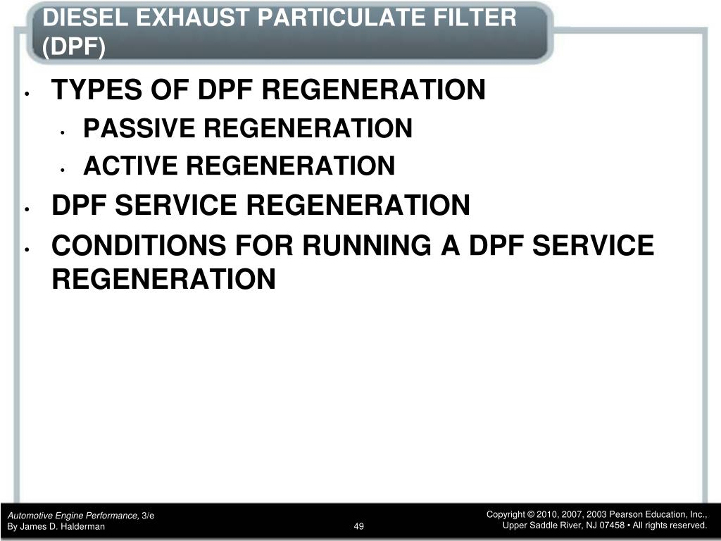 PPT - CHAPTER 4 Diesel Engine Operation and Diagnosis