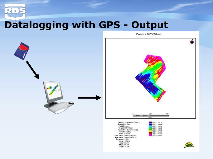 Datalogging with GPS - Output
