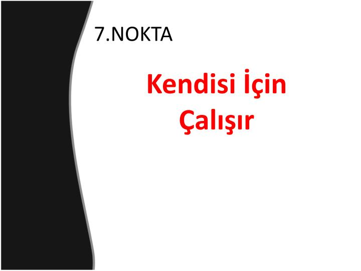 7.NOKTA