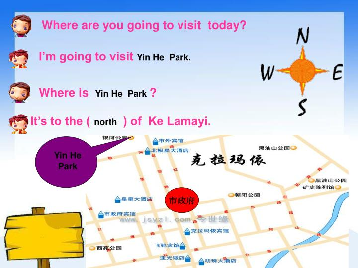 Where are you going to visit  today?