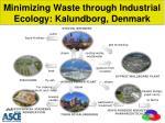 minimizing waste through industrial ecology kalundborg denmark