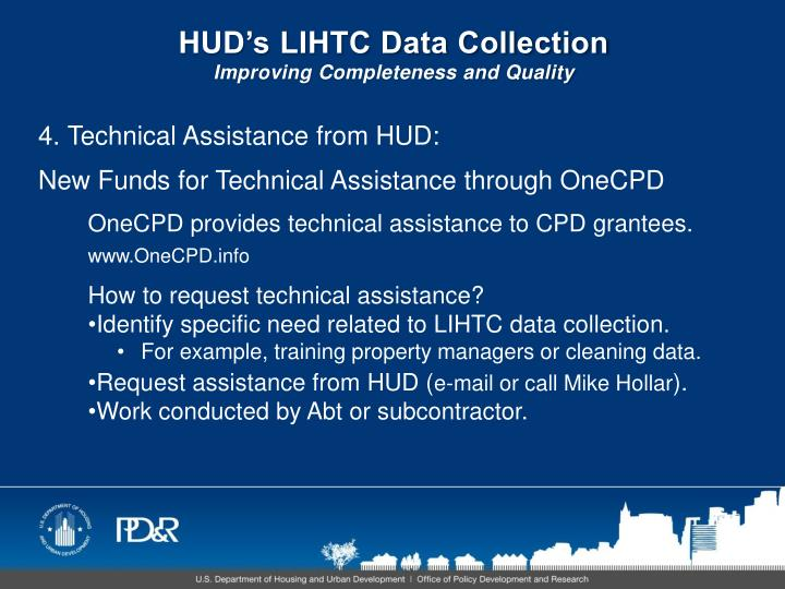 HUD's LIHTC Data Collection