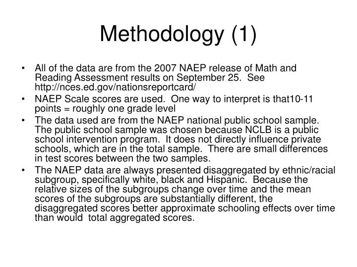 Methodology 1
