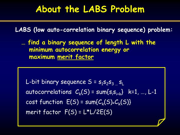 About the labs problem