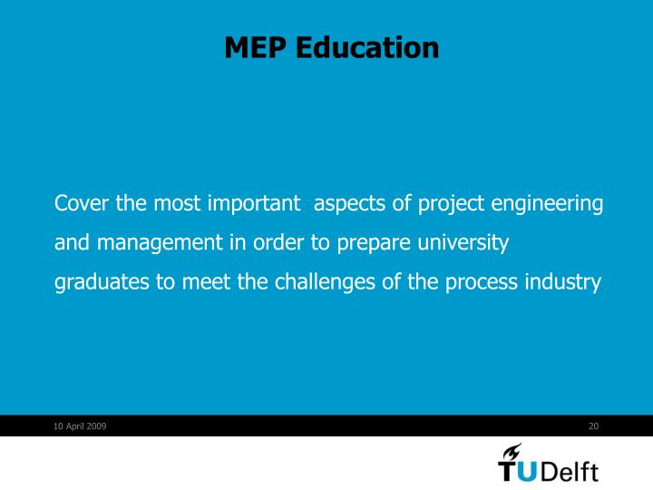 MEP Education