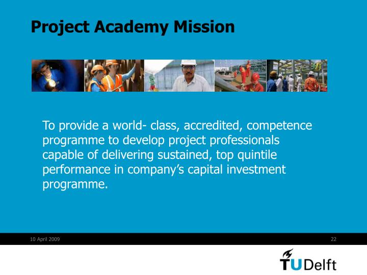 Project Academy Mission