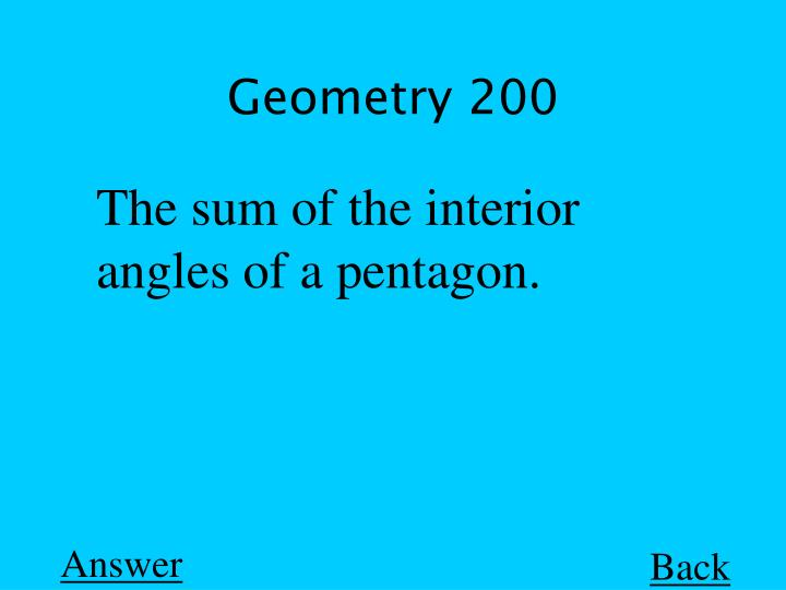 Geometry 200