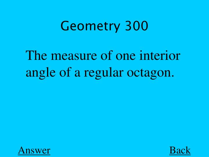 Geometry 300