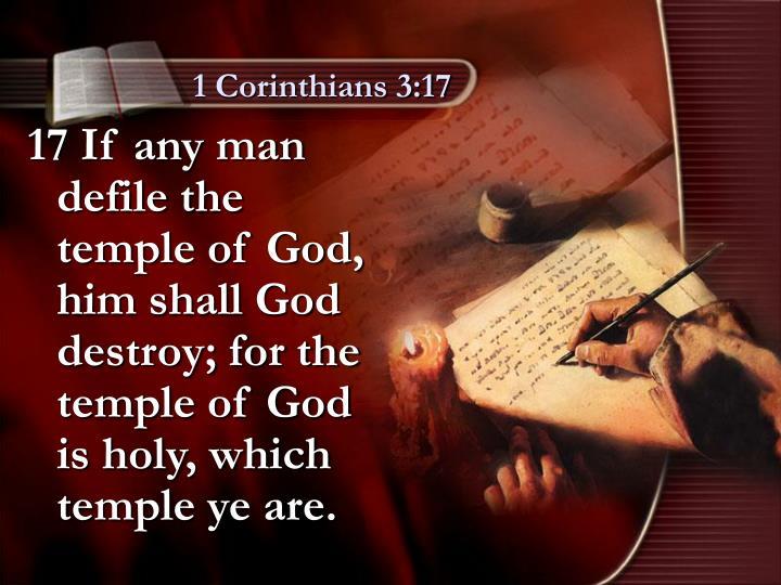 1 Corinthians 3:17