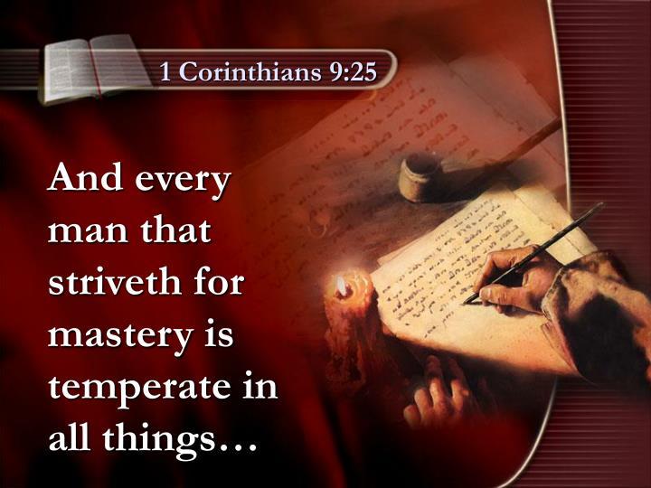 1 Corinthians 9:25