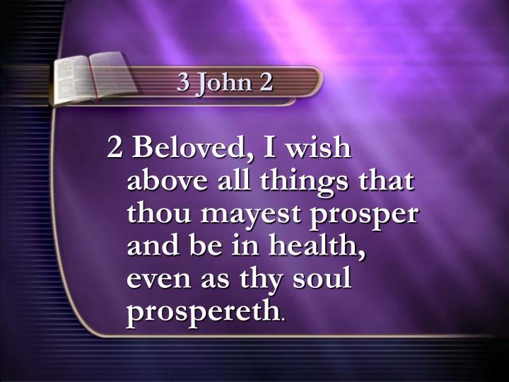 3 John 2