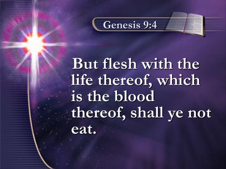 Genesis 9:4