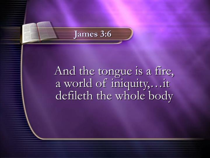 James 3:6