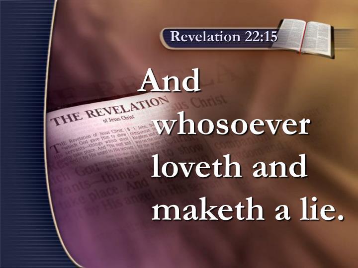Revelation 22:15
