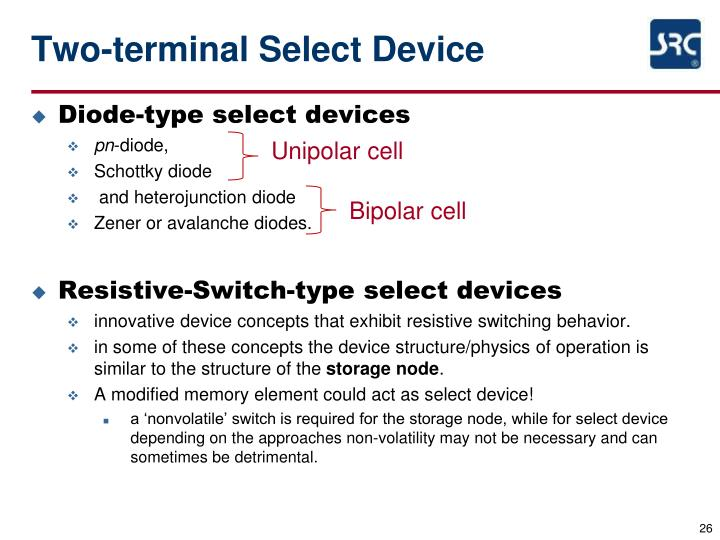 Two-terminal Select Device