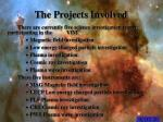 the projects involved