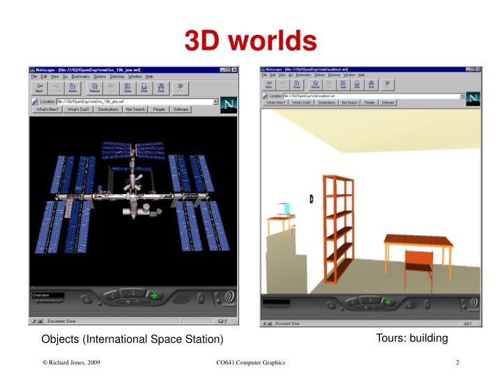 3d worlds