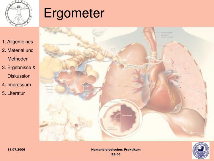 Ergometer