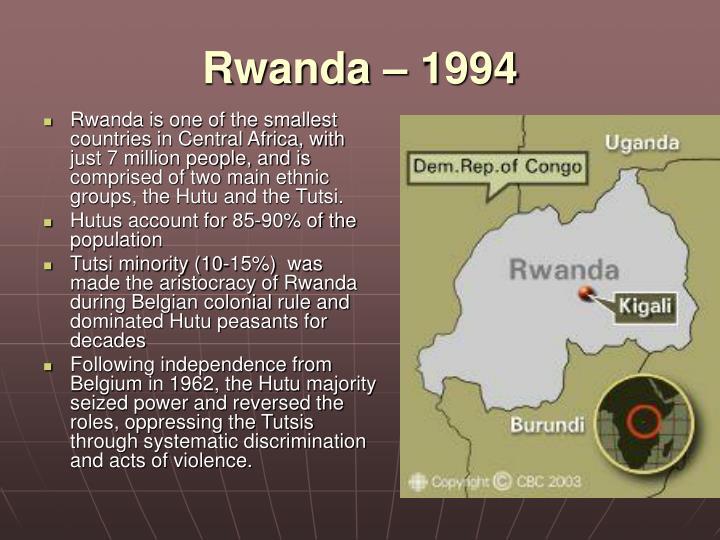 Rwanda – 1994
