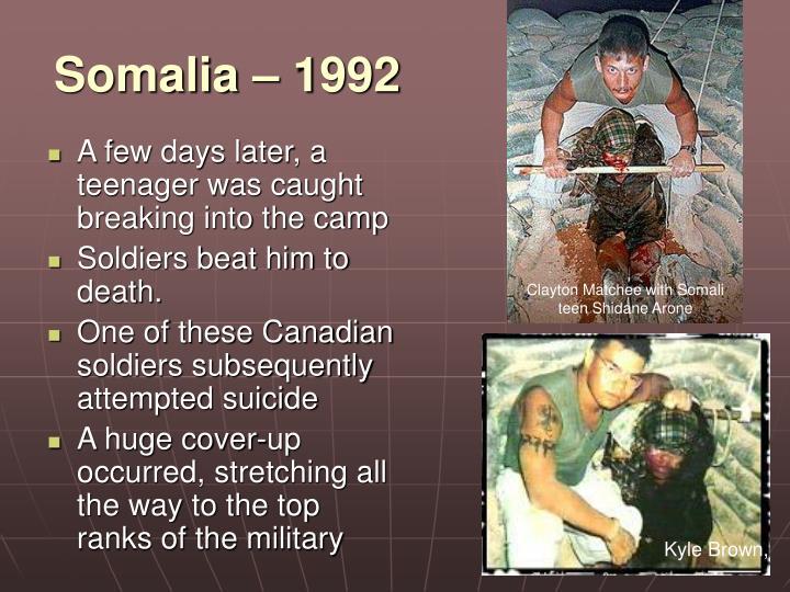 Somalia – 1992