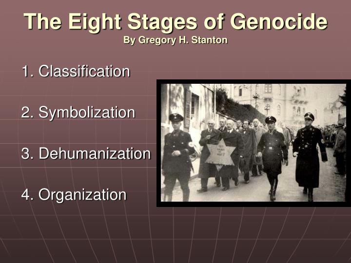 The Eight Stages of Genocide