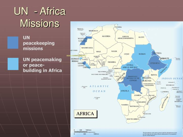UN  - Africa Missions