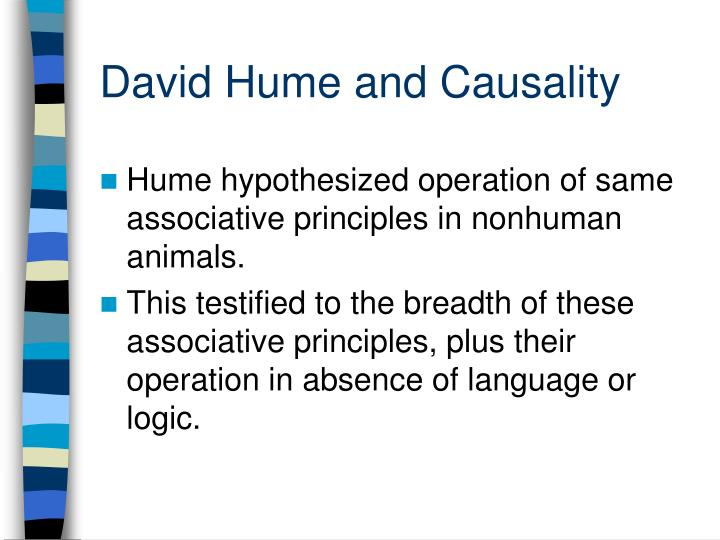 hume vs kant causality Read this essay on kant vs hume come browse our large digital warehouse of free sample essays get the knowledge you need in order to pass your classes and more.