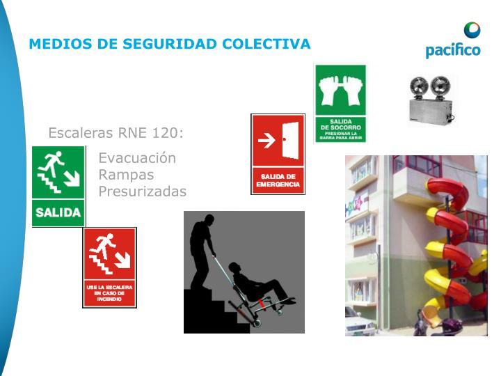 Escaleras RNE 120: