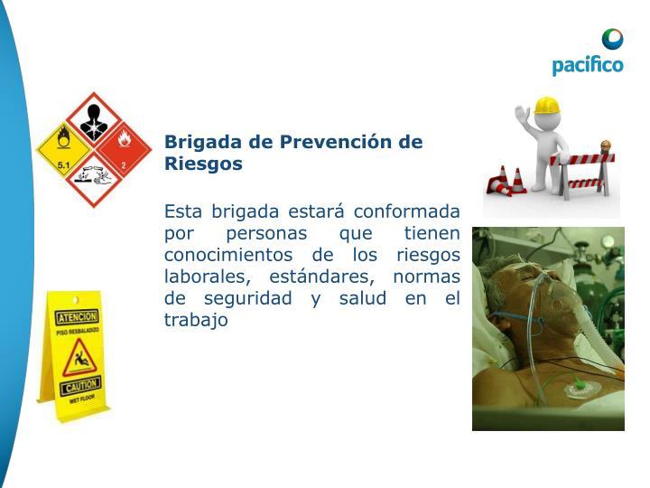 Brigada de Prevención de Riesgos