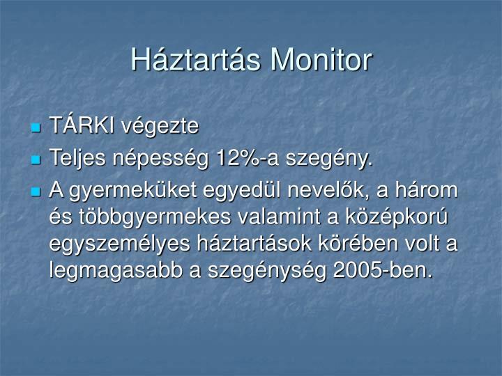 Háztartás Monitor