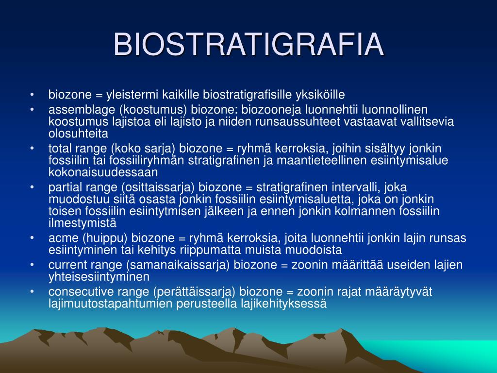 Radiohiili-ikiä). Radiocarbon dates ) vastoin biostratigrafisia määritelmiä ja on sen jälkeen johtanut.