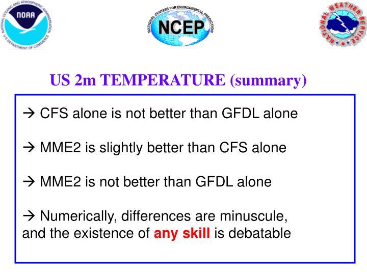 US 2m TEMPERATURE (summary)