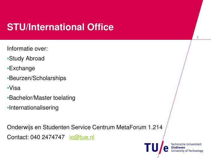 Stu international office1