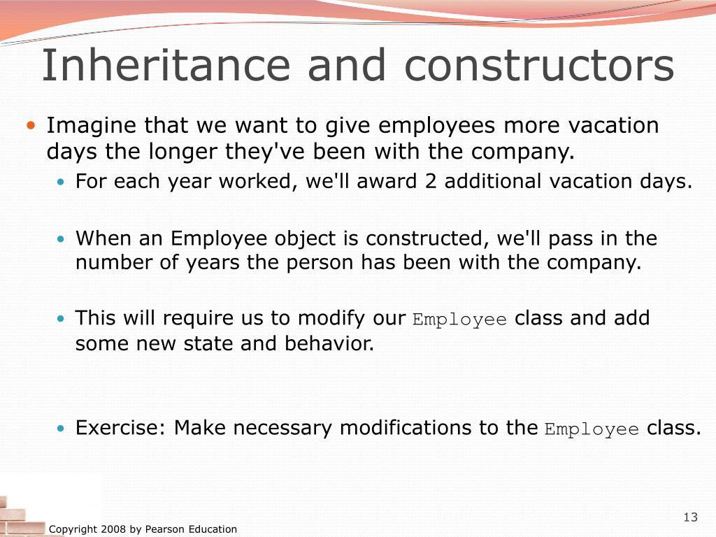 Employee Class Java Inheritance