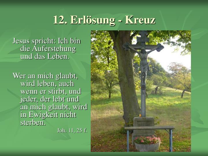 12. Erlösung - Kreuz
