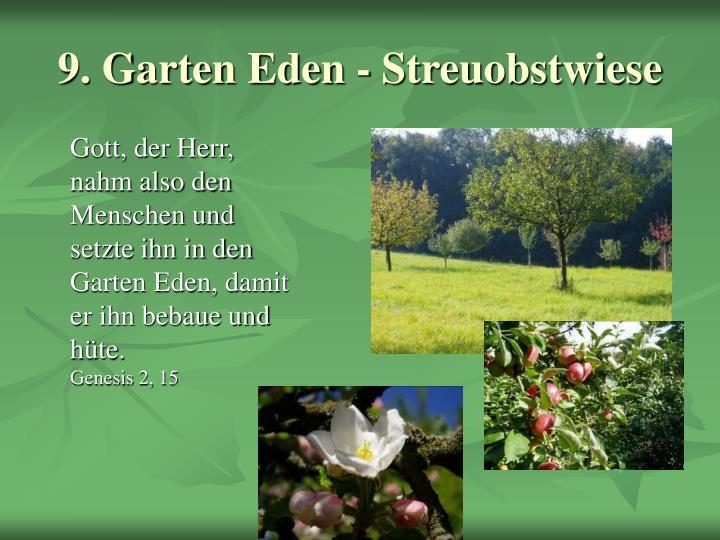 9. Garten Eden - Streuobstwiese