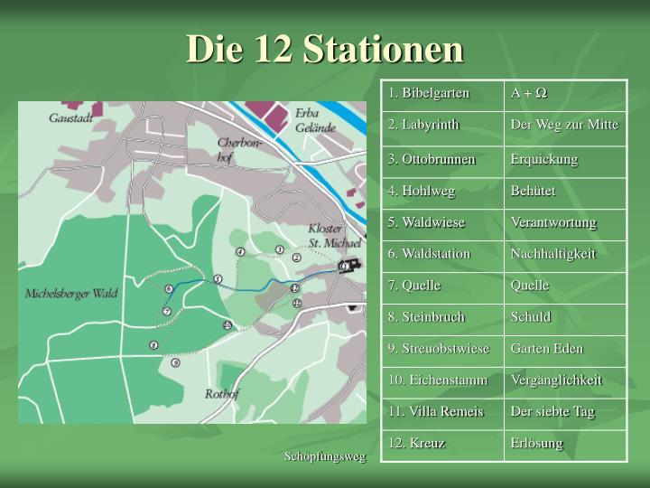 Die 12 stationen