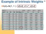 example of intrinsic weights3