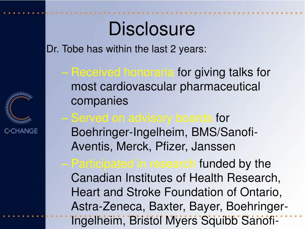 PPT - C-CHANGE: Harmonizing Cardiovascular Prevention