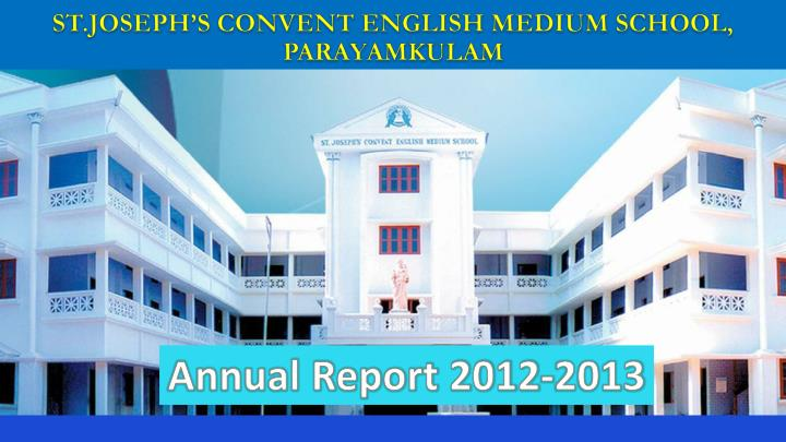 st joseph s convent english medium school parayamkulam n.