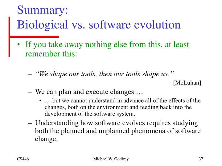 summary of biology