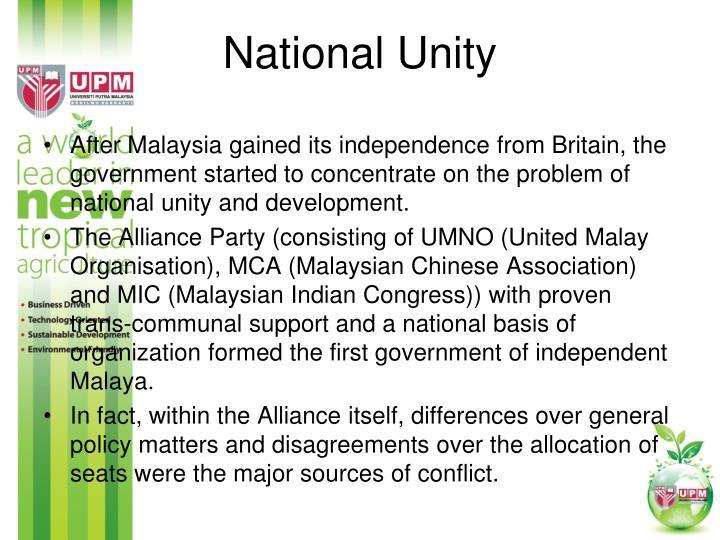 National Unity