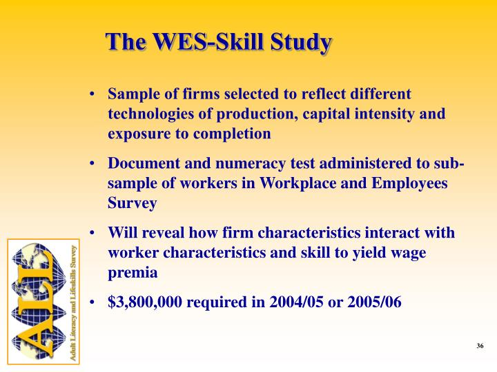 The WES-Skill Study