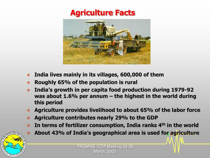 Agriculture facts