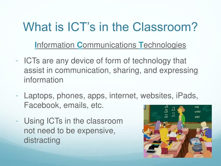 how i use ict at home and at school essay 3 ict enhancing teaching and learning process the field of education has been affected by icts, which have undoubtedly affected teaching, learning and research (yusuf, 2005) icts have the potential to accelerate, enrich, and deepen.