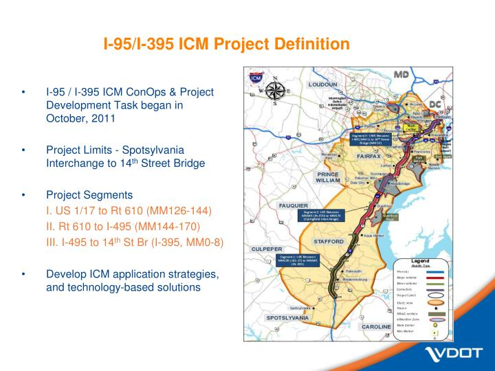 I-95/I-395 ICM Project Definition