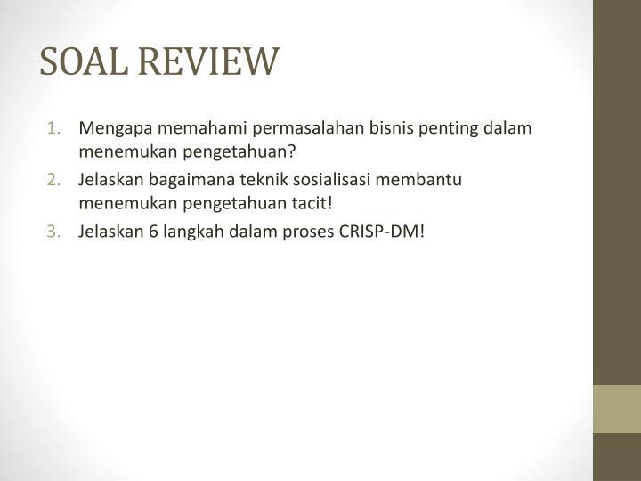 SOAL REVIEW