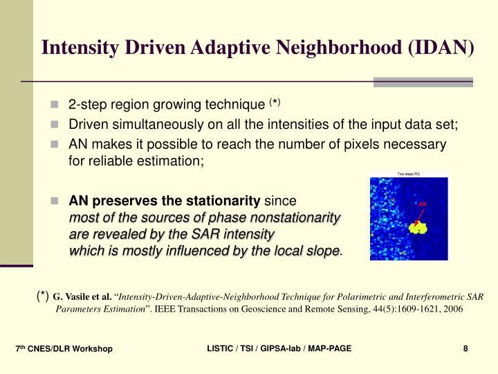 Intensity Driven Adaptive